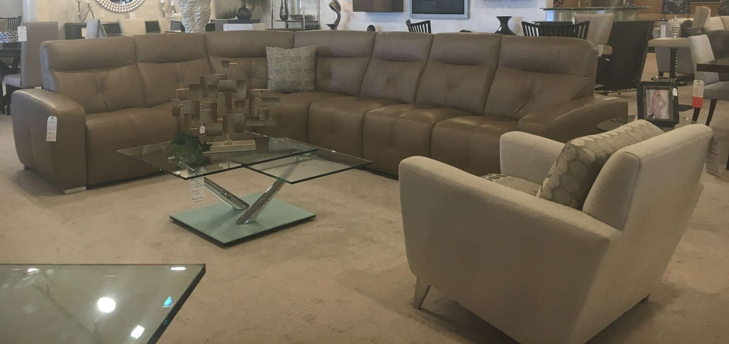 Large Selection Of Leather Furniture