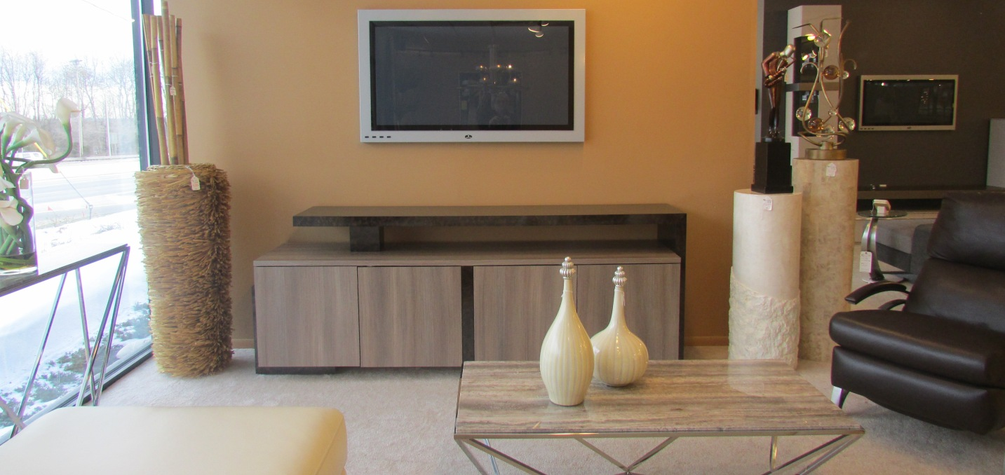 We Specialize In Custom Media Cabinets