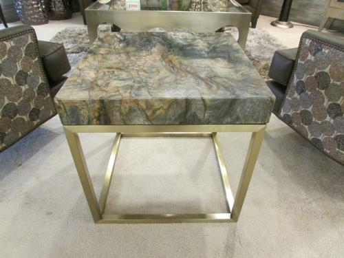 New! Marble End Table