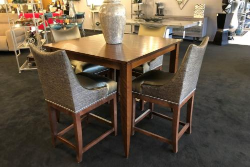 New! Wood Counter Table
