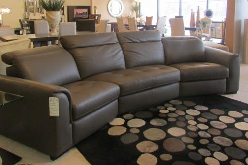 3 pc. Leather Motion Sofa