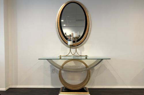 Console & Mirror
