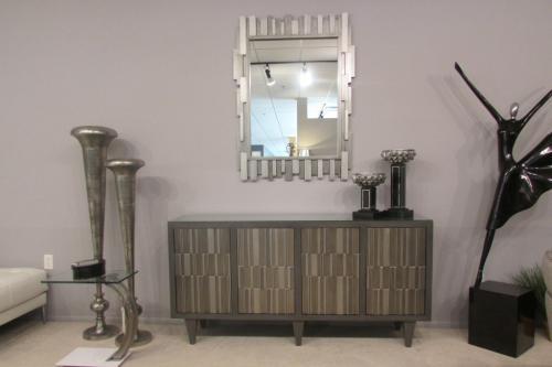New! Cabinet & Mirror