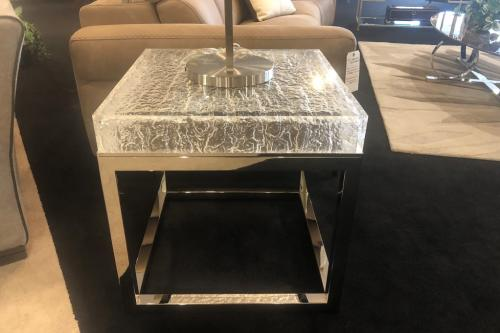 Acrylic End Table