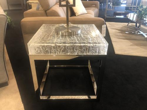 New! Acrylic End Table
