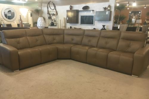 4 Pc. Leather Sectional