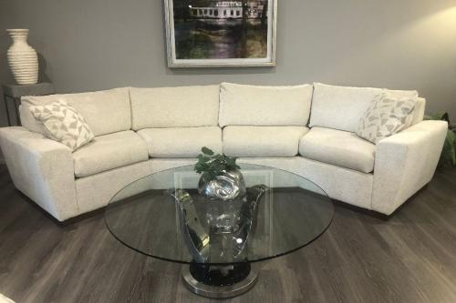 2 Pc. Curved Sectional
