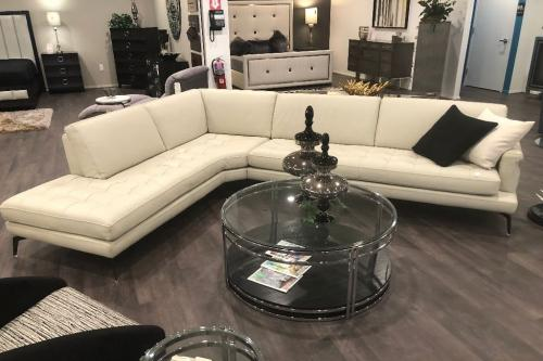 2 Pc. LeatherSectional