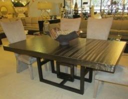 New! Metal Dining Table