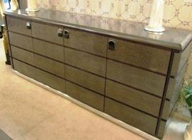 Wood Dining Credenza
