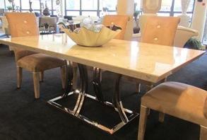 New! Marble Dining Table