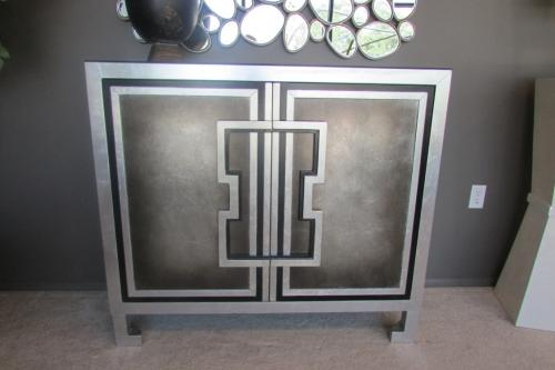 New! Hand Painted Cabinet