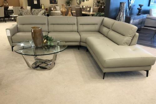 New! 2 Pc. Leather Sectional
