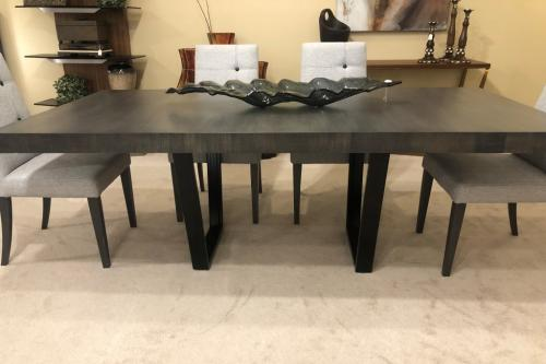 New! Extension Wood Dining Table