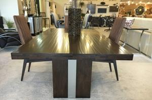 New! Wood Dining Table