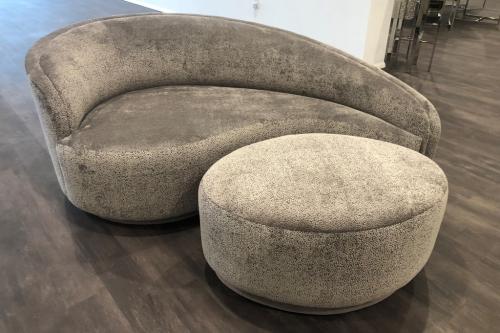 Chaise Lounge & Ottoman