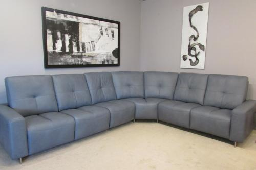 Leather Sectional With Motion