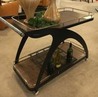 New! Bar Cart