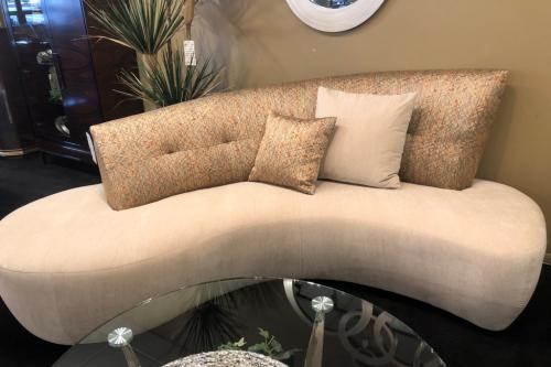 New! Curved Sofa
