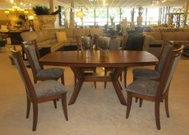 New! Wood Dining Room