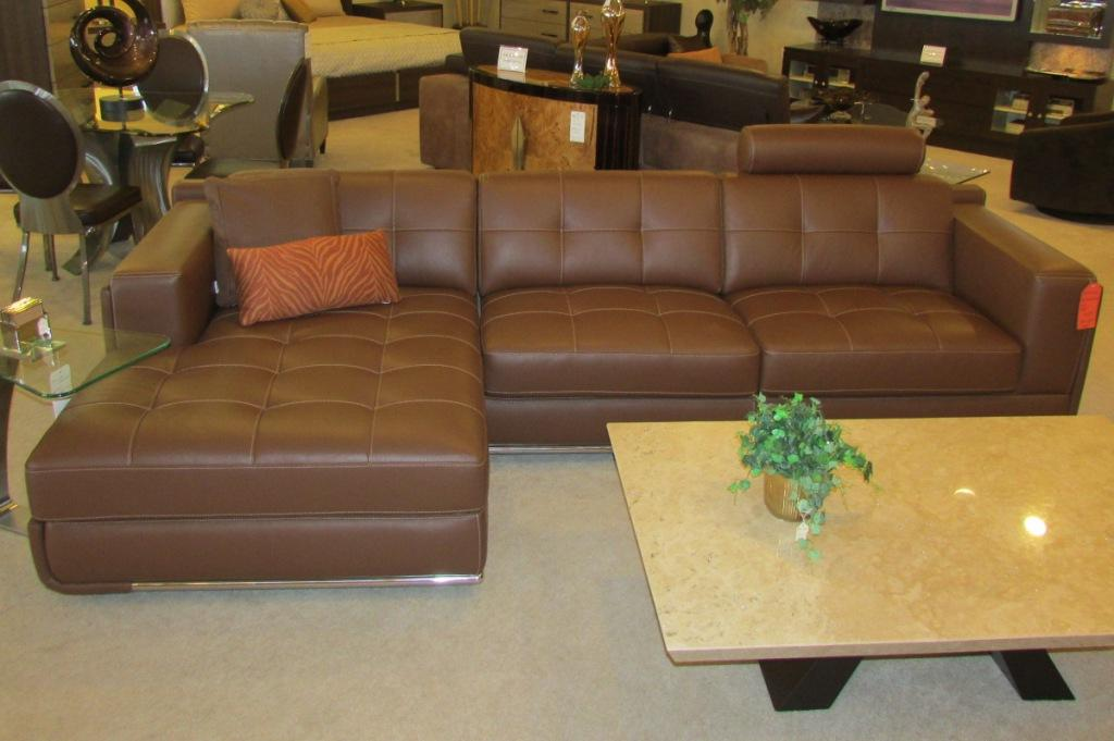 Leather Sectional This Contemporary Sofa
