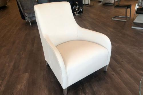 Occasional Chair In Leather