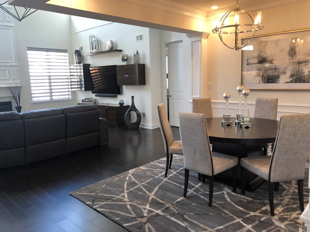 Living Room & Dining Room Designed By Robin Eisner