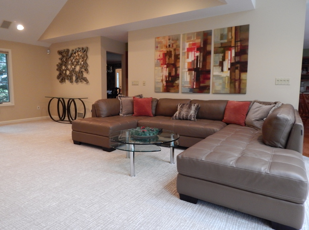 Franklin Lakes Great Room Designed By Bob Berry
