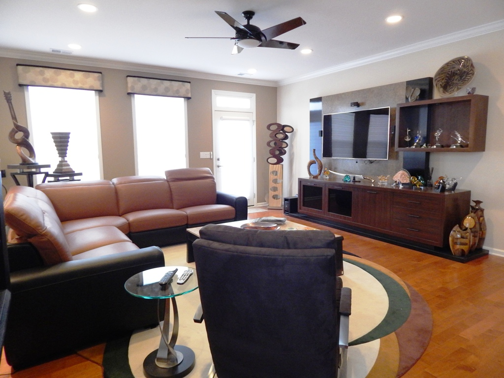 Family Room Project Designed By Bob Berry
