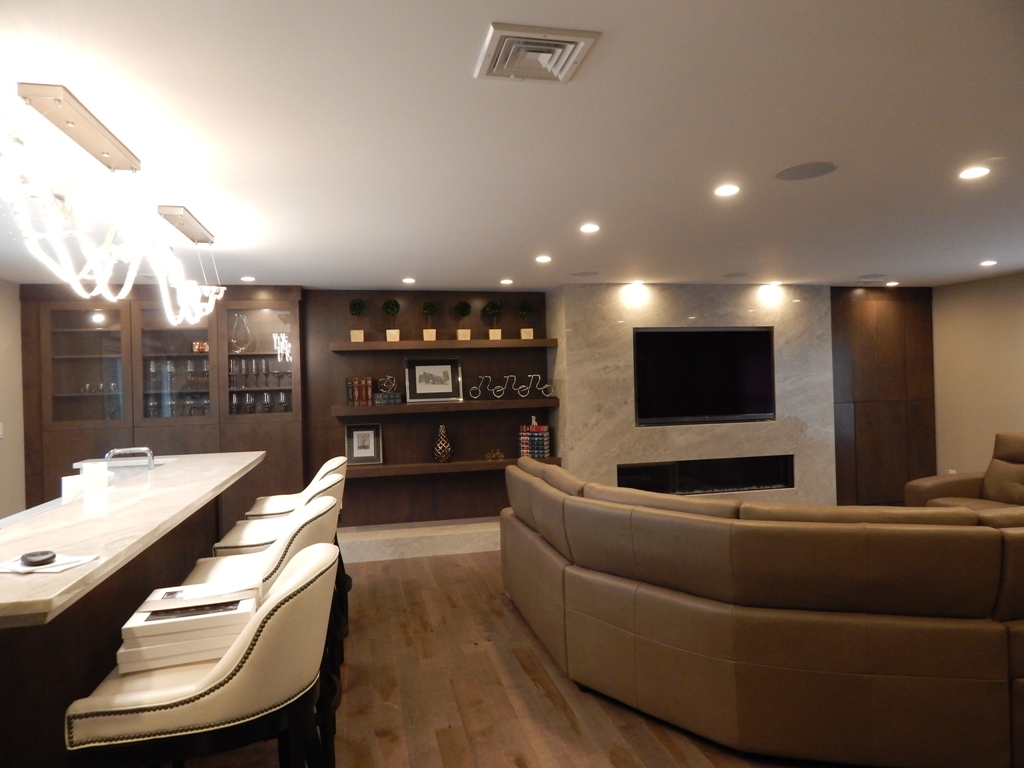 Great Room Renovation Designed by Bob Berry