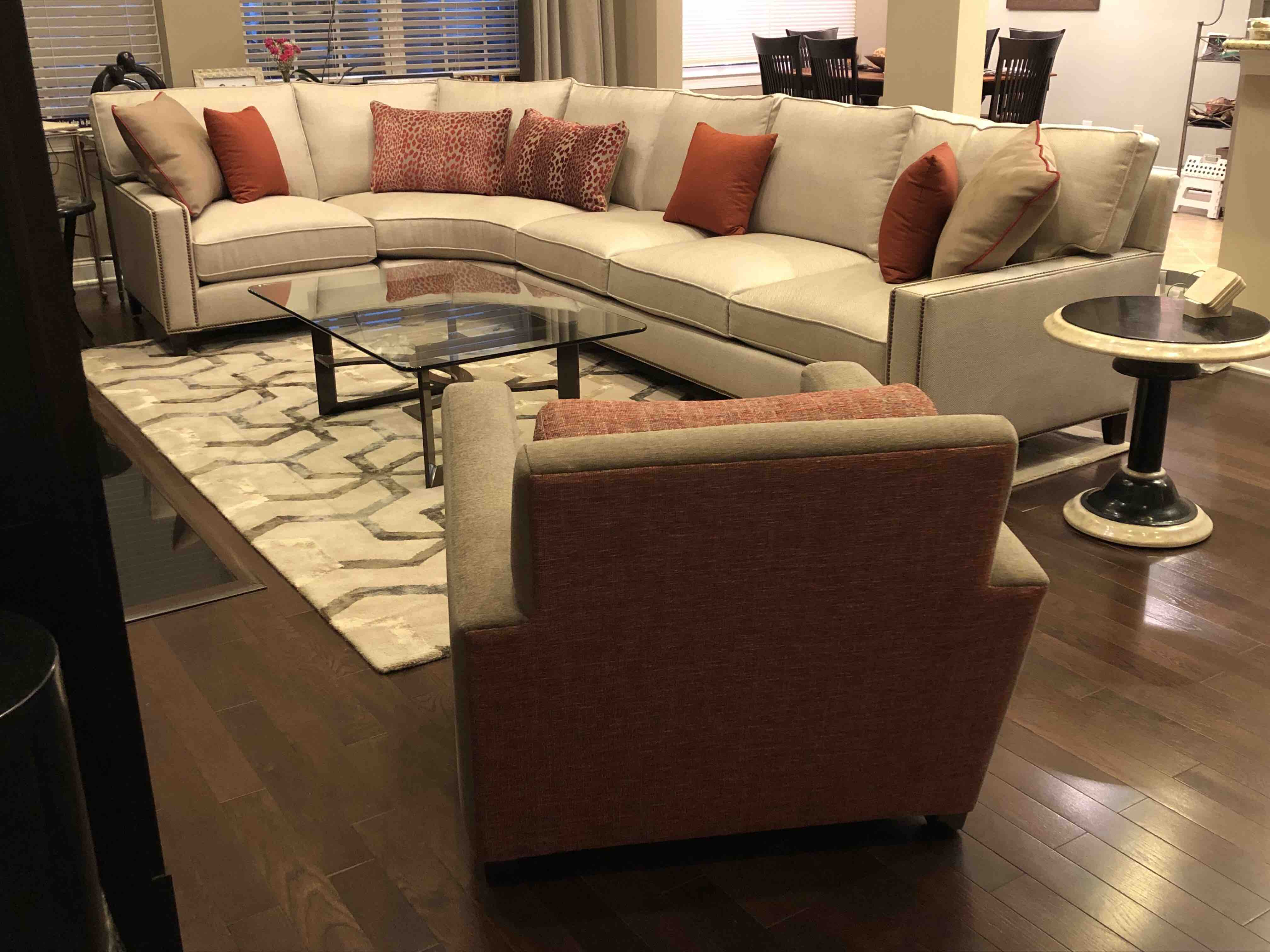 Great Room Design Project Designed By Sheryl Rothman