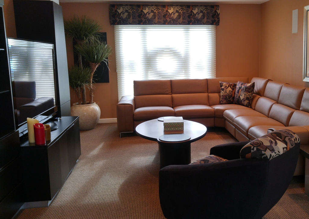 Family Room Project Designed By Simonne Pojawa