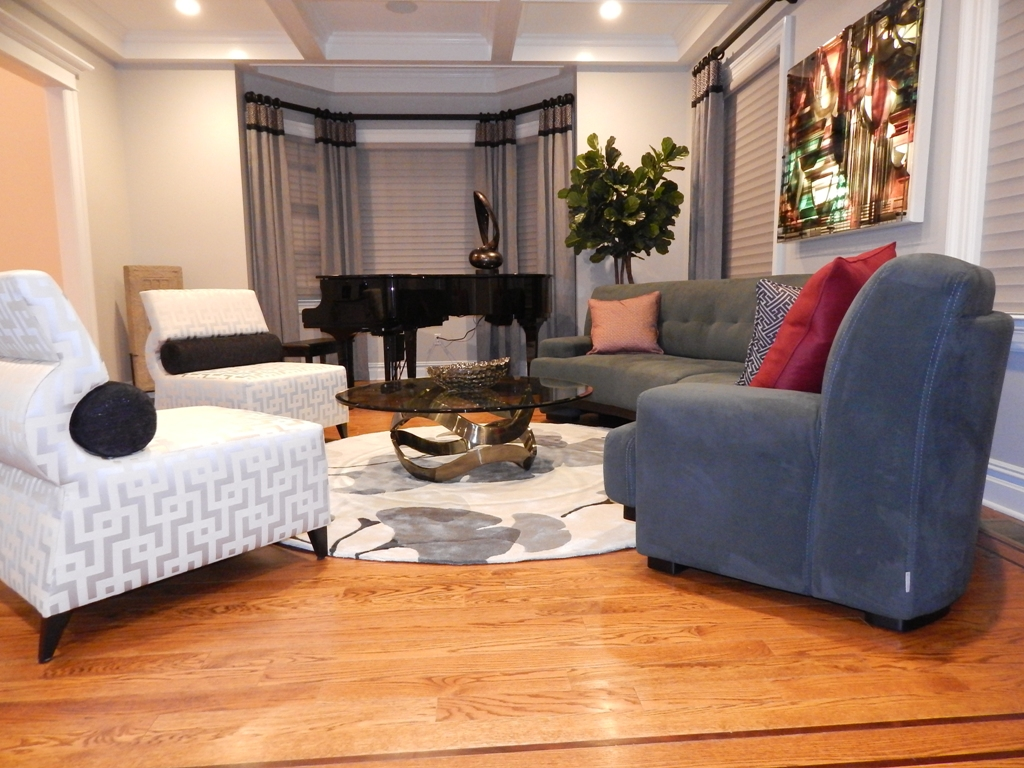Living Room And Dining Room Designed By Bob Berry