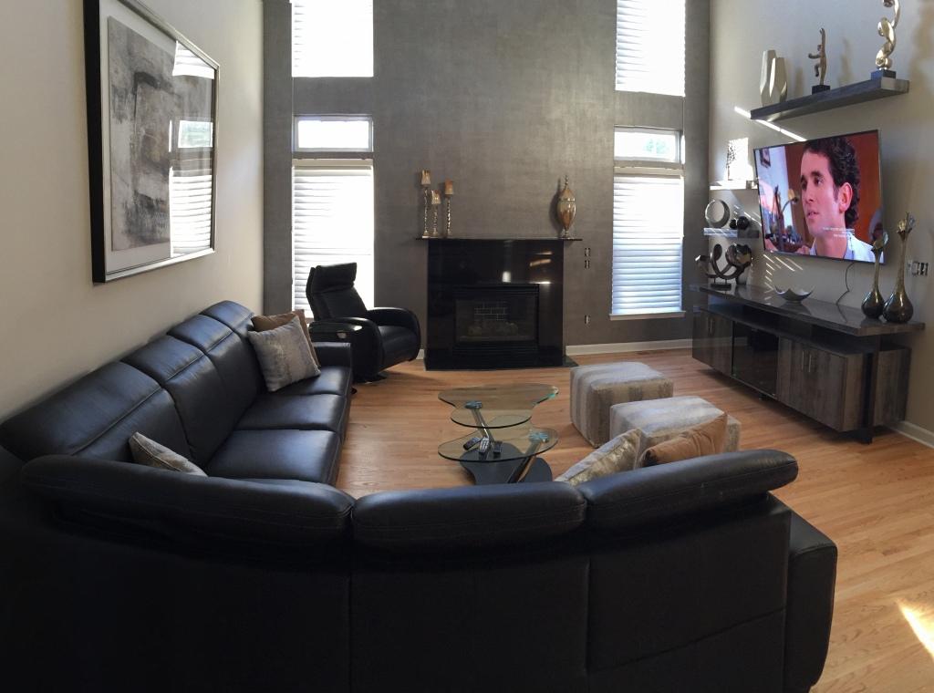 Toms River, NJ Home Designed by Robin Eisner